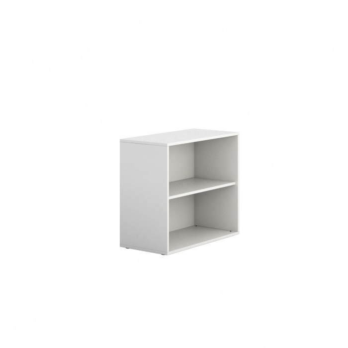 niedriger schrank offen kurz block white b2b partner. Black Bedroom Furniture Sets. Home Design Ideas