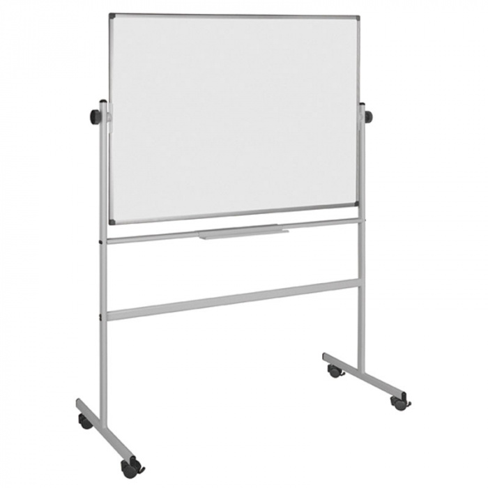 bi office magnettafel whiteboard auf rollen 1500x1200 mm. Black Bedroom Furniture Sets. Home Design Ideas